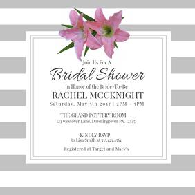 EVENT FLYER Bridal Shower Video