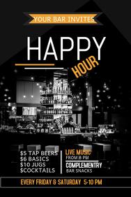 happy hour invitation template Josemulinohouseco