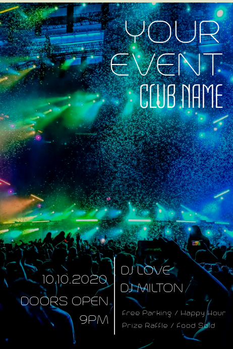 Event Poster Template