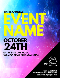 customize 25 210 event flyer templates postermywall