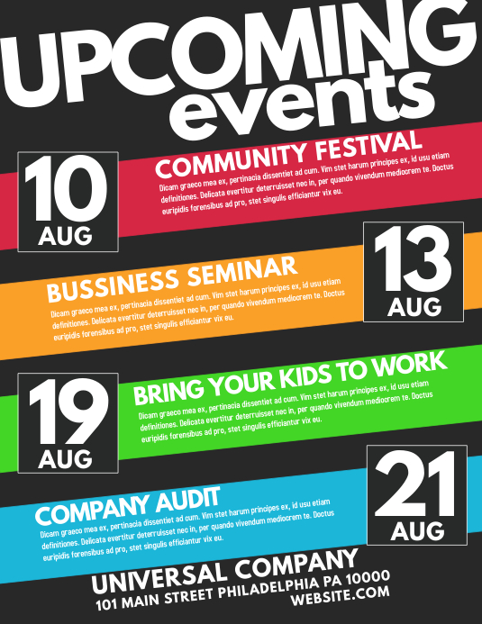 customize 25 230 event flyer templates postermywall