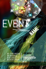 Event poster template,Party template,Dance party