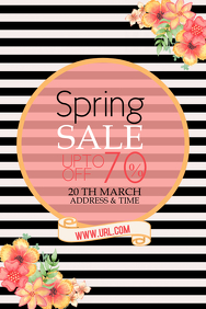 Event poster template,Party templates,spring retails templat