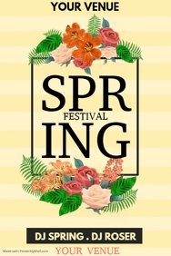 Event poster template,Spring posters,retail posters template