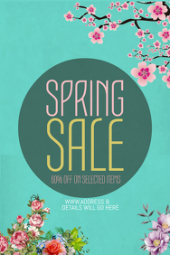 event poster templates ,retail templates,spring templates