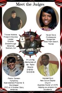 Event Program Template Poster