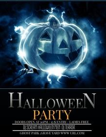 Event template,Halloween Flyer