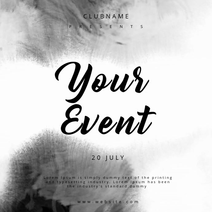 Event Template