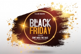 Event templates,Black Friday ,retail Affiche
