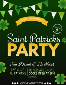 event templates,st.patricks day templates,party templates
