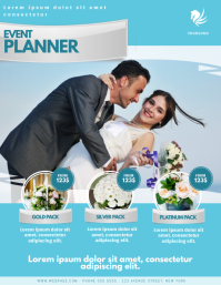 Event Wedding Planner Florist Flyer Template