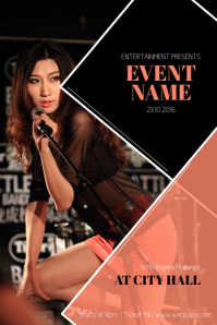 Event Flyer Template with Photo