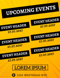 EVENTS AD FLYER TEMPLATE
