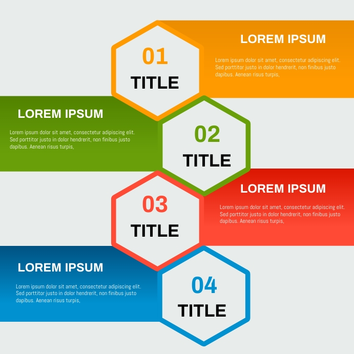 EVENTS SHEDULE/ INFOGRAPH TEMPLATE Instagram Post