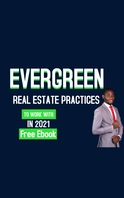 Ever green real estate practices Cover ng Libro template