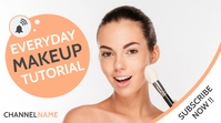 everyday make up tutorial fashion youtube thu template