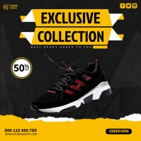 Exclusive Collection Cuadrado (1:1) template