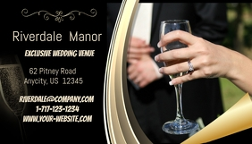 Exclusive Wedding Venue Business Card
