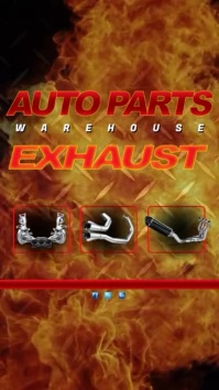 Exhaust Giveaway Video Template Digital Display (9:16)
