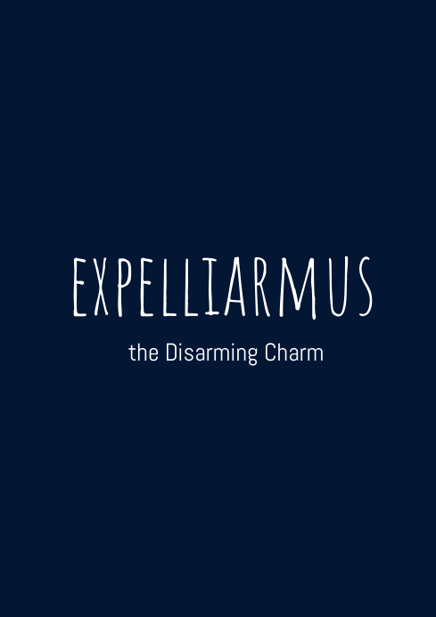 Expelliarmus Template Postermywall