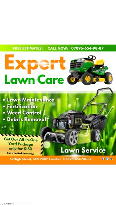 Expert Lawn Care VideoTemplate