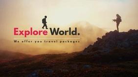 Explore World Video Template