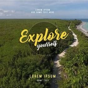 Explore Yourself - Holidays Quadrat (1:1) template