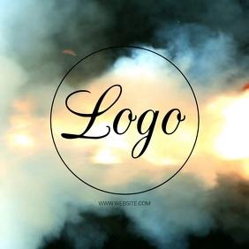 EXPLOSION logo design Template