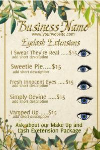 Eyelash Extentions Advertising