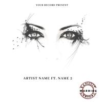 eyes Mixtape/Album Cover Art Albumcover template