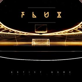 F L U X Album Cover Instagram 帖子 template