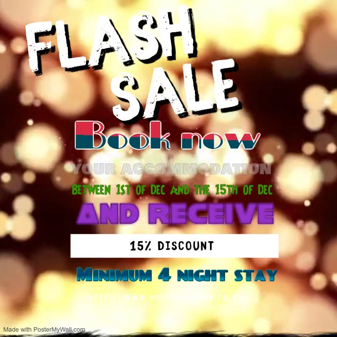 Copy of Flash Sale Video Ad Template instagram