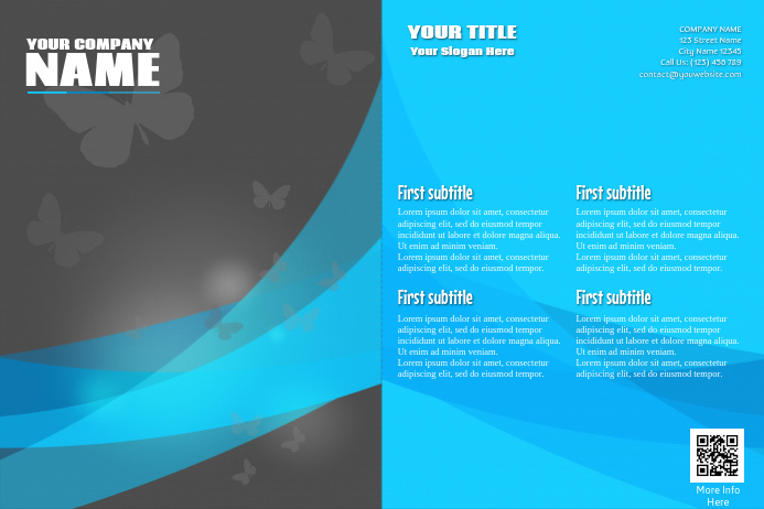 Multipurpose marketing brochure - PosterMyWall
