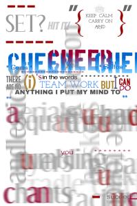 Cheerleading Iphosta template