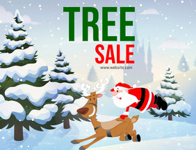 Christmas Tree Sales Event