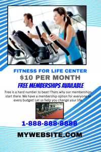 Fitness for Life template