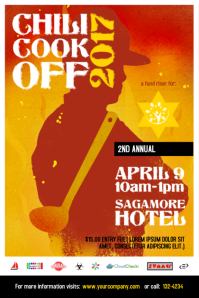 Chili Cook Off Poster Template