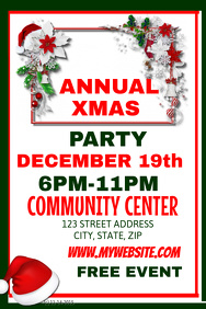 Annual Christmas Party Event Template