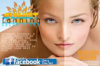 Tanning Salon Summer Ad Discount Trial Flyer