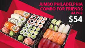 Sushi Digital Menu Template