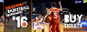 Basketball Facebook Cover Template