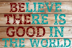 BE THE GOOD INSPIRATIONAL WORDS QUOTE WALL ART HOME DECOR GIFT POSTER