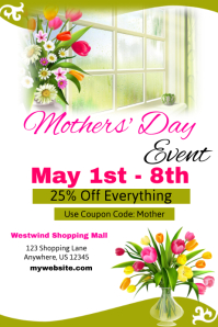 Mothers Day Sale Event Template
