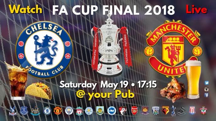 FA Cup Final Video Pantalla Digital (16:9) template