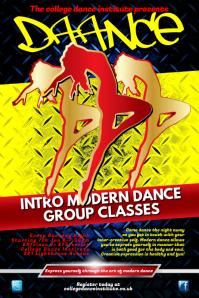 Customizable Design Templates For Dance Academy Flyer