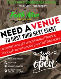 FACC VENUE HIRE Flyer (Letter pang-US) template