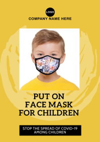 Face Mask for Children Covid-19 555