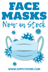 Face Masks Poster Template Template