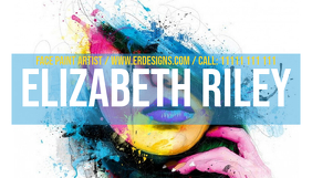 Face Paint Artist Business Card