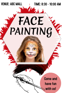 Face Painting Event Template